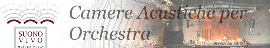 natural acoustic system for orchestra by Suono Vivo